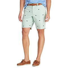 08693add36 Men's Chaps Classic-Fit Stretch Flat-Front Shorts