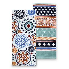 Food Network™ Medallion Kitchen Towel 2-pk.