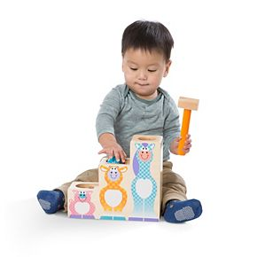 Melissa & Doug First Play Pound & Roll Stairs