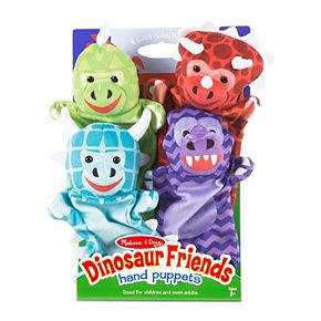 Melissa & Doug Dinosaur Friends Hand Puppets Set