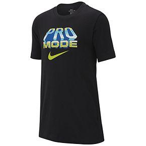 Boys 8-20 Nike Pro Mode Tee