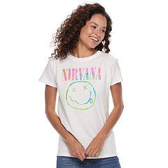 Juniors' Nirvana Logo Tee