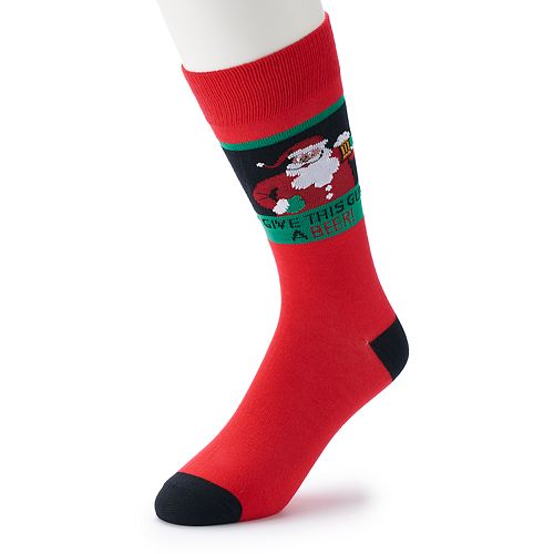 Men's Davco Holiday Novelty Socks