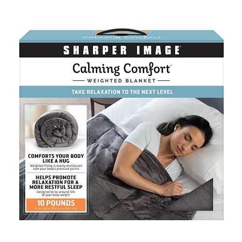 Calming Comfort 10 Lbs Weighted Blanket