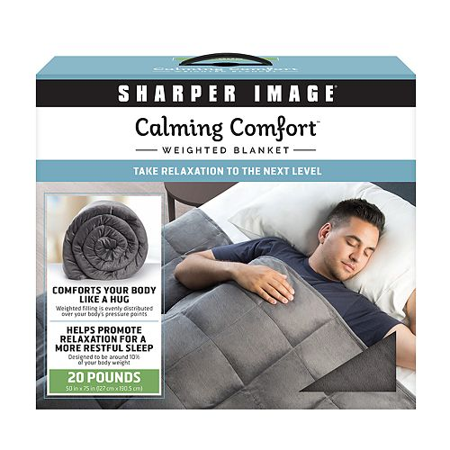 Calming Comfort 20 Lbs Weighted Blanket