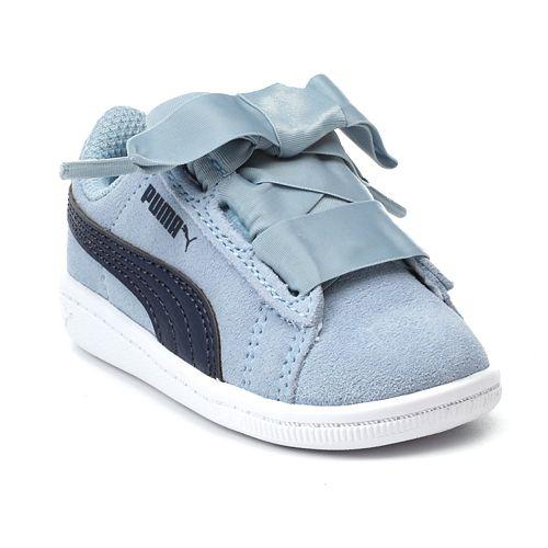 cheap for discount 0353f 222fe PUMA Vikky Ribbon Preschool Girls' Water Resistant Sneakers