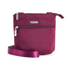 Baggallini RFID-Blocking Small Zip Crossbody Bag