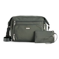 Baggallini Travel Hobo with RFID-Blocking Wristlet