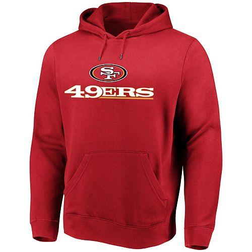quality design 44aab 86a6e Men's San Francisco 49ers Hoodie