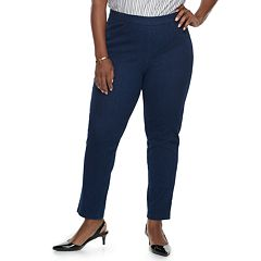 Plus Size Alfred Dunner Studio Pull-On Jeans
