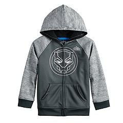 Boys 4-12 Jumping Beans® Marvel Black Panther Zip Hoodie