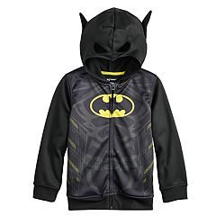 Boys 4-12 Jumping Beans® DC Comics Batman 3D Mask Zip Hoodie