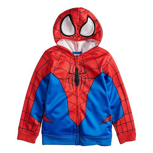 Marvel Little Boys Spider-Man Fleece Pullover