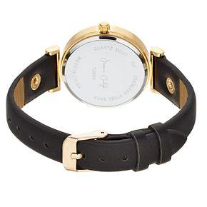 Women's Pyramid Stud Leather Watch