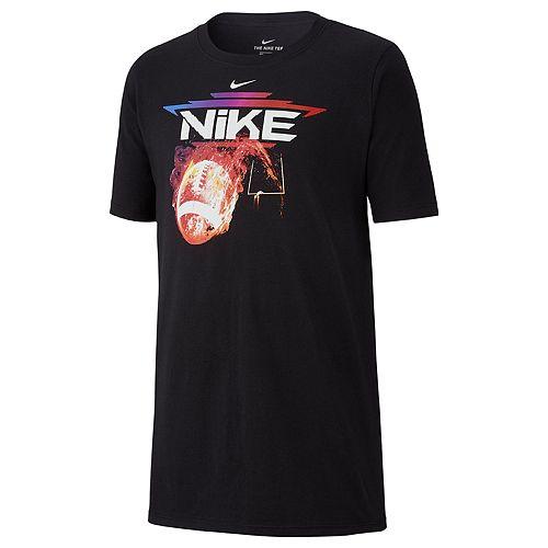 Boys Nike Vintage Football Tee