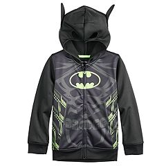Boys 4-12 Jumping Beans® DC Comics Batman Costume Zip Hoodie with 3D Ears