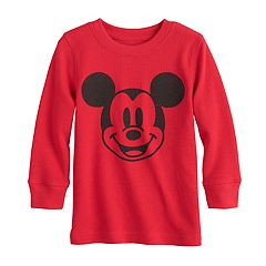 Disney Mickey Mouse Baby Boy Thermal Graphic Tee by Jumping Beans®