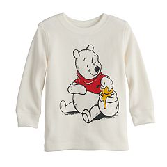 Disney's Winnie the Pooh Baby Boy Pooh Thermal Graphic Tee by Jumping Beans®