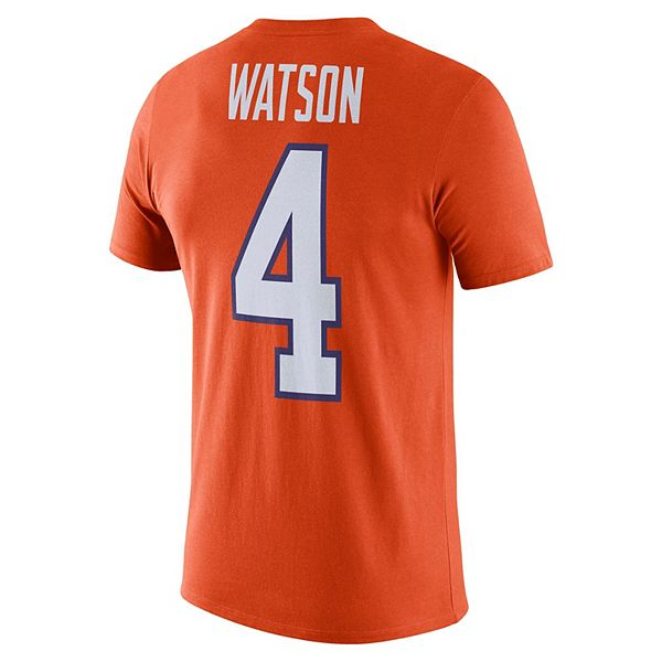 Men's Nike Clemson Tigers Deshaun Watson Jersey Graphic Tee