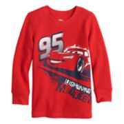 Disney / Pixar Cars Toddler Boy Lightning McQueen Thermal Graphic Tee by Jumping Beans®