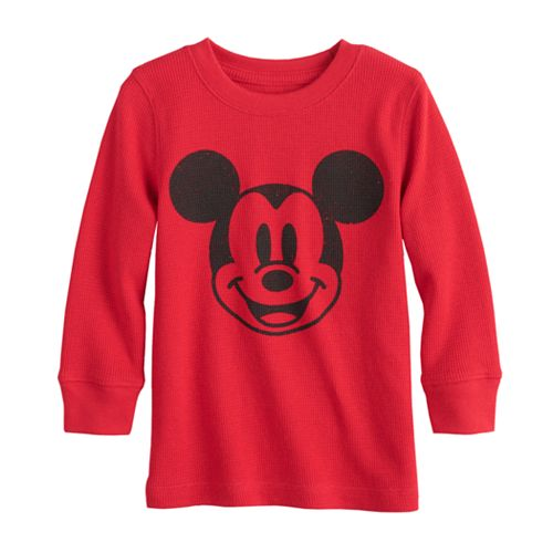 Disney Mickey Mouse Toddler Boy Thermal Graphic Tee by Jumping Beans®