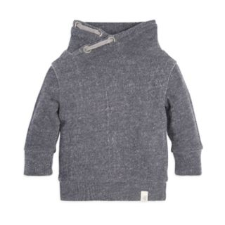 Baby Boy Burt's Bees Baby Organic Pique Shawl Neck Pullover Sweater