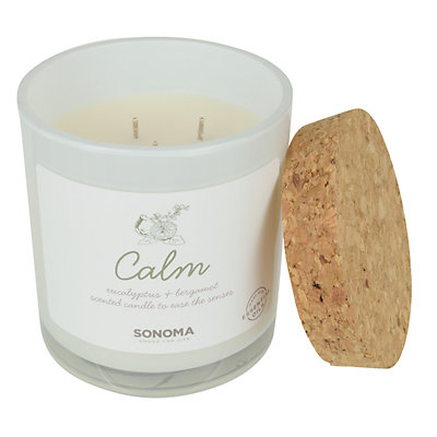 SONOMA Goods for Life? Spa Calm Eucalyptus & Bergamot 13-oz. Candle Jar