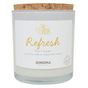 SONOMA Goods for Life? Spa Refresh Lime & Ginger 13-oz. Candle Jar