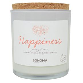 SONOMA Goods for Life? Spa Happiness Peony & Rose 13-oz. Candle Jar