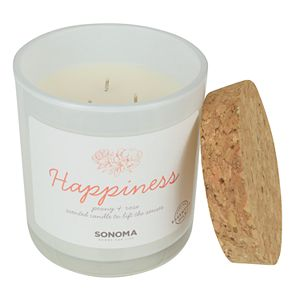 Sonoma Goods For Life® SPA Happiness Peony & Rose 13-oz. Candle Jar