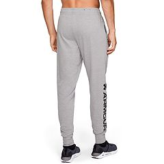 04951de1a Men's Under Armour Sportstyle Cotton Graphic Jogger. Steel Light Heather  Black