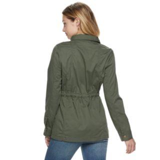 Juniors' Mudd® Utility Jacket