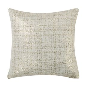 Levtex Ditsy Gold Textured Throw Pillow