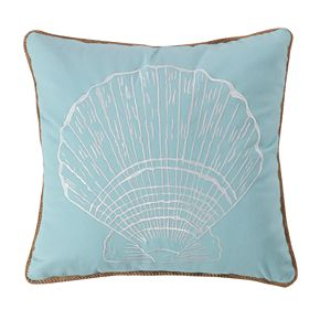 Levtex Icaria Shell Rope Throw Pillow
