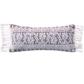 Levtex Josie Spa Embroidered Tassel Throw Pillow