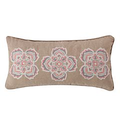 Levtex Spruce Coral Medallions Throw Pillow