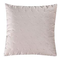 Levtex Spruce Coral Blush Velvet Throw Pillow