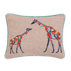 Levtex Mackenzie Giraffes Throw Pillow