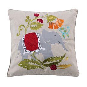 Levtex Marielle Elephant Throw Pillow