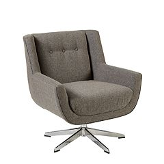 INK+IVY Nina Swivel Lounge Chair