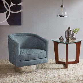 INK+IVY Bardot Swivel Lounge Chair