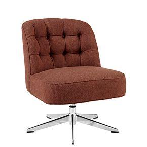 INK+IVY Leanne Swivel Lounge Chair