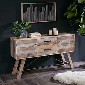 INK+IVY Sonoma Storage Buffet Table