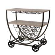 INK+IVY Branford Bar Cart
