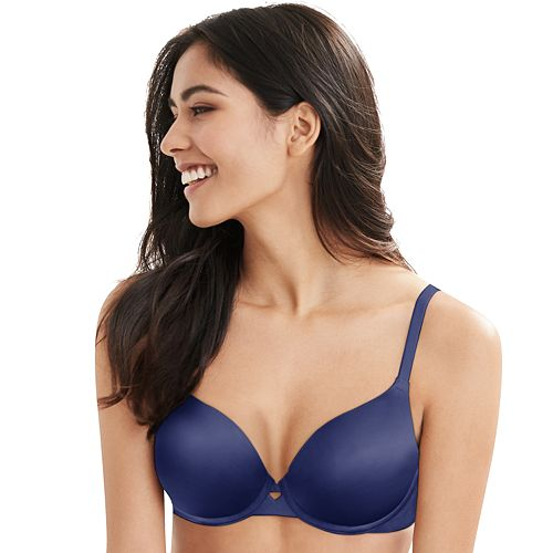 8bc26b32 Women's Hanes Ultimate No Show Underwire Bra DHHU33