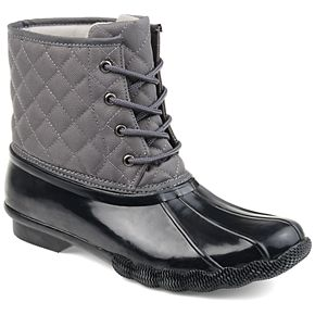 Journee Collection Chill Women's Faux-Fur Quilted Boots