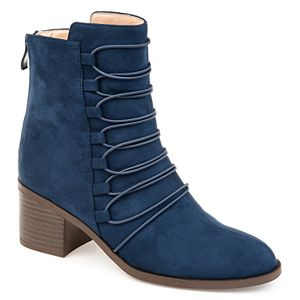 Journee Collection Cyan Women's Faux-Suede Boots