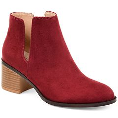 Journee Collection Vianne Women's Side Cutout Ankle Boots