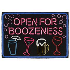 Liora Manne Frontporch Boozeness Indoor Outdoor Rug