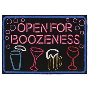 Liora Manne Frontporch Boozeness Indoor Outdoor Rug